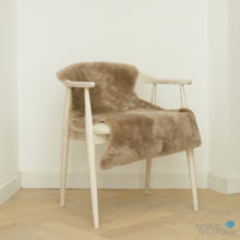 Taupe shearling