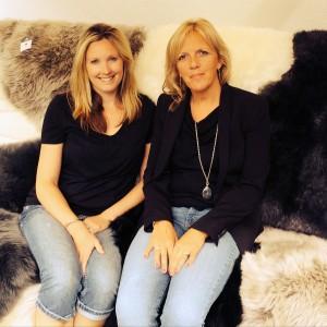 Sue Wilkinson and Cecilia Poulsen