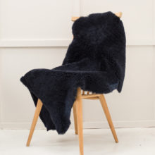 large black shearling