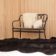 black sexto sheepskin
