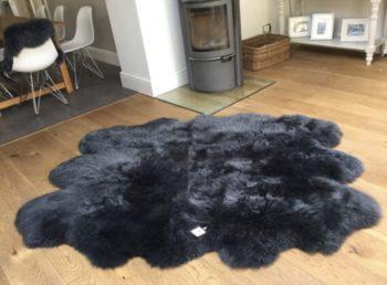 Charcoal Grey Sexto Sheepskin
