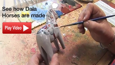 How dala Horses are made
