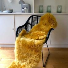 Ochre Double sheepskin